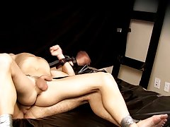 Blonde gay mobile video and boy short hair sex gay