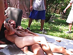 this dude sent us his frat initiation video and it was pretty rad gay porn group sex xxx