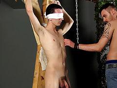 Bondage gay video and men in bondage gear...