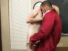 Preston too takes a thick facial previous to shooting his load hardcore gay pics at Teach Twinks