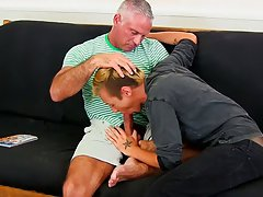 Orgasm hardcore gay and hardcore gay male cock videos at Bang Me Sugar Daddy