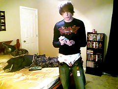 Wife watches husband with a twink and mature twink pic - at Boy Feast!