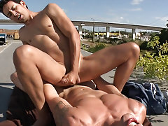 Nude asian men fuck men outdoors