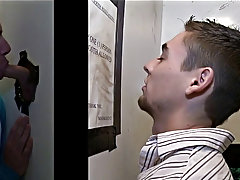 Straight hunk moans loud in blowjob porn film and gay blowjob while asleep