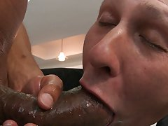 Interracial gay anal fucking