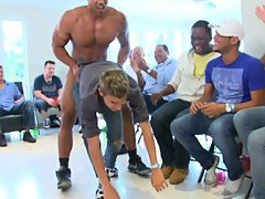 Gay group nude and group treatment for...