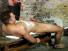 Young men tortured with whips and completely naked adult male fetish - Boy Napped!