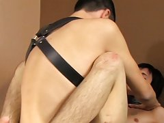 Gay boys men cumming face fucking hard cumming and brazil gay rimming