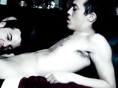 When the vampire lastly sinks his wang into Brice, their fucking is intense and passionate free gay twink sex pictur - Gay Twink