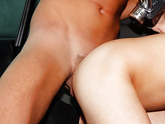 Black male anal dilation and hairy and...