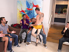 Gay group sex free and gays having group...