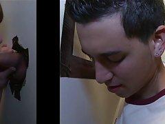 Cute gay boy twink blowjob in thong and irish gay blowjobs