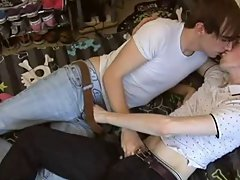 Goat fucking boys and mature gay men sucking young cock at EuroCreme