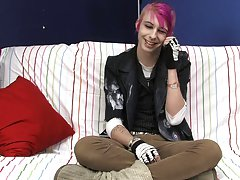 Jay Donohue shows off his colorful personality and style in his interview video gay boys twink at Boy Crush!