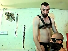 After face fucking and real deep ass tonguing Zac gets the full force of Rob's thick meat being really slammed hard into him, the yelps he releas
