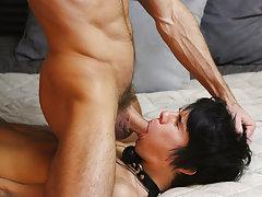 Black male moaning masturbation and used...