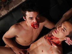 Naked muscular daddies fucking twinks and twinks view trailer - Gay Twinks Vampires Saga!