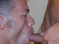 When the cop is agreeable benefit of his ass, Giorgio sits on the cop's dick gay group cock sucking