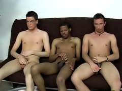 He was a little nervous at how he was going to perform black interracial gay
