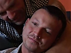 These randy men love sex, and do it anywhere and at any time, loving the feel of their hard bodies pressed against each other gay bear male sex at Alp