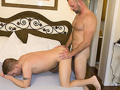 Gay rookie Luke came to us with his fantasy of being nailed sooner than his favorite hung stud porn star, so we obliged him by bringing over Parker an