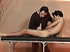 Watch the twink's cock shoot out sweet tap as the doctor was working on his excited sucker gay russian boys and men