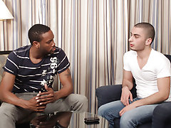 Jay Scorpio was pumped up to dive into his first ever gay shoot, so when Kihoe showed up ready to take every inch of Jay's big black cock, Jay wa