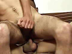 After sucking him stiff, the boy is the one that's screaming happy new year at the top of his lungs while his ass is slammed and his chest is jiz