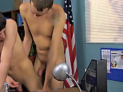 The two play a minuscule game with puppets before getting down to the nitty gritty gay twink porn at Teach Twinks