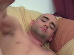 Enrique was glad to oblige and flipped him over so he could fuck him doggie style and push him towards him while he shoved his cock deeper and deeper