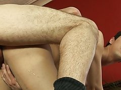 Franco gladly takes Javier's cock inside his famished mouth and begins sucking it my peral gay black twinks