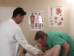 The one doctor was clever to take all my cock in his mouth, and they were trying to get me to cum fresh gay twink
