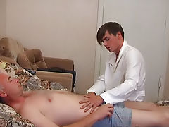 He was appalled, and called a doctor mature men nude