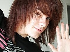 Kristian James is one hot emo boy  boys sex fantasy at Homo EMO!