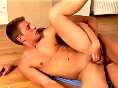 After his orgasm he wanted to gain the favor so he rolled beyond and started blowing the other guy gay sex first time