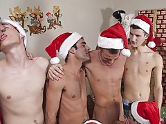 Cameron and Eric got down on their knees and began to unzip and withdraw out cock after cock gay groups for se at Broke College Boys!