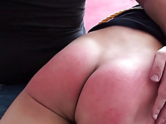 Spanked in bedroom good sound spanking mal