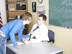 For example: the educator learns that unfledged boy asshole tastes mighty delicious gay twink big cock at Teach Twinks