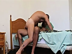 Rubbing their hairy bodies together, Butch gives Carlos cock a ride of a lifetime and watching it slip into his cell will make you spunk your load the