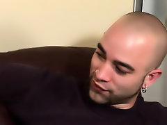 His first huge cock gay interracial vid