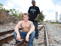 Thug Hunter gay male interracial tgp