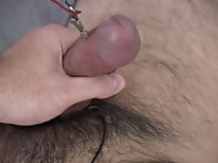 I left the current hooked up to Label's cock and jerked him off at the same time male masturbation aids