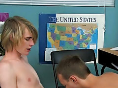JT Wreck, a young appealing twink wonders about what it is to be with a man gay long twinks at Teach Twinks