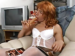So Mature and Fernando do their best painstakingly applying make-up and pulling up their colored smooth stockings and fine lacy panties hung ebony gay