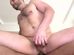 Today we brought in this guy named Cory and it was really great watching this 6 ft 5 inch guy surrender to Castro's giant cock gay interracial gr