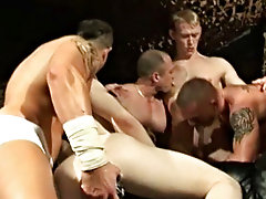 Great foot of Ryder irresistible cock after cock - then ultimately Mukhtar's massive cock - while the other guys make up the sleazy atmosphere, k