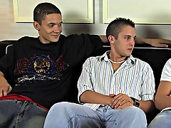 Michael, Ty and Trevin Nills are getting together for a fiery jerkoff period, they each bolt absent from there dicks and compare the, as soon as they