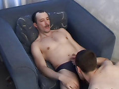 He was so jubilant, that decided to have a party with his mature boyfriend, Nick hardcore gay sex clips