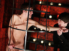 They feed off each other with blood an with sexual pleasure young boys first time se - Gay Twinks Vampires Saga!