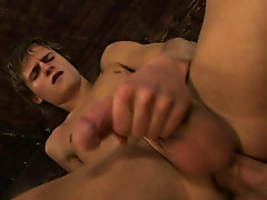This first timer took to chugging cock and getting reamed like he'd been doing it all his life hot gay college hunks